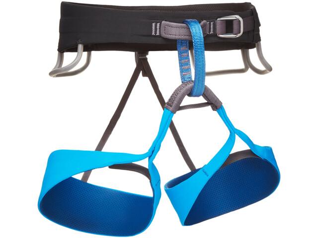 Black Diamond Solution Harness Herre black-ultra blue